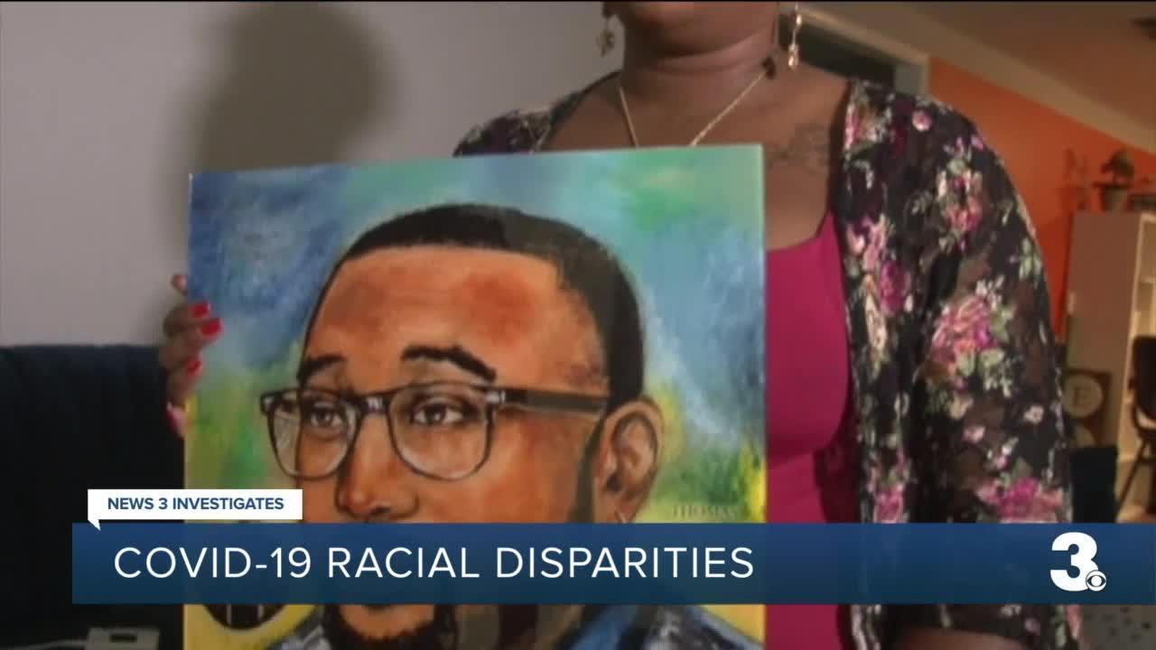 COVID-19 racial disparities