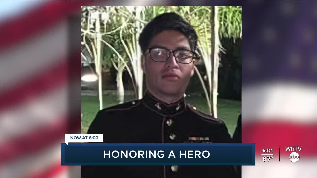 Hoosiers honor Logansport Marine Cpl. Humberto Sanchez