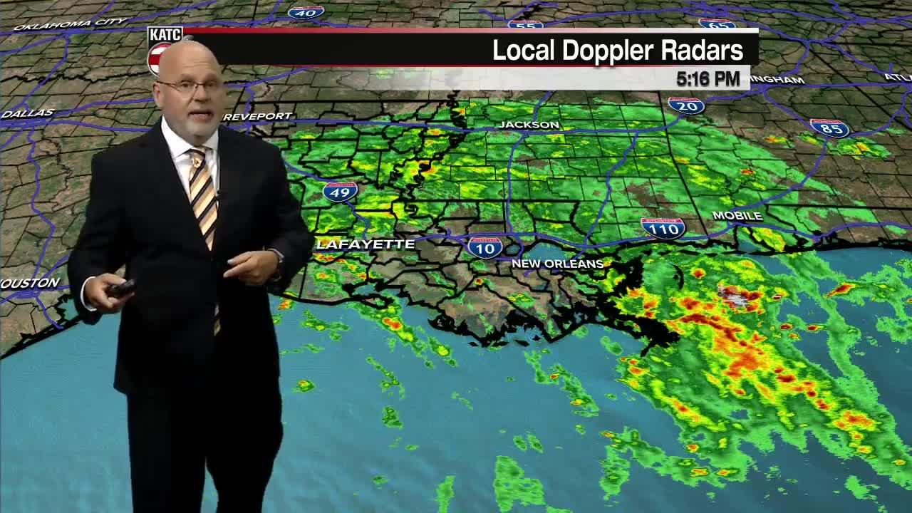 ROB'S WEATHER FORECAST PART 1 5PM 9-14-2021