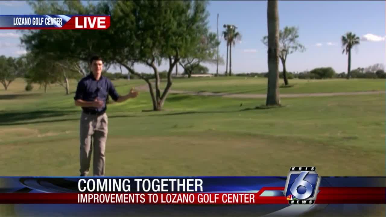 Improvements to Lozano Golf Center
