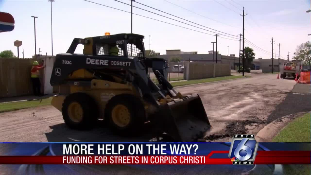 More funding for streets in Corpus Christi