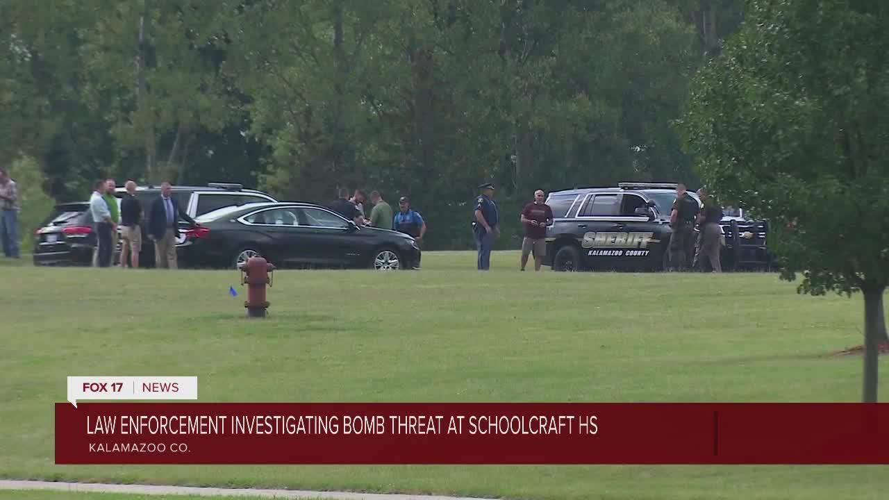 Bomb threat called into Schoolcraft High School