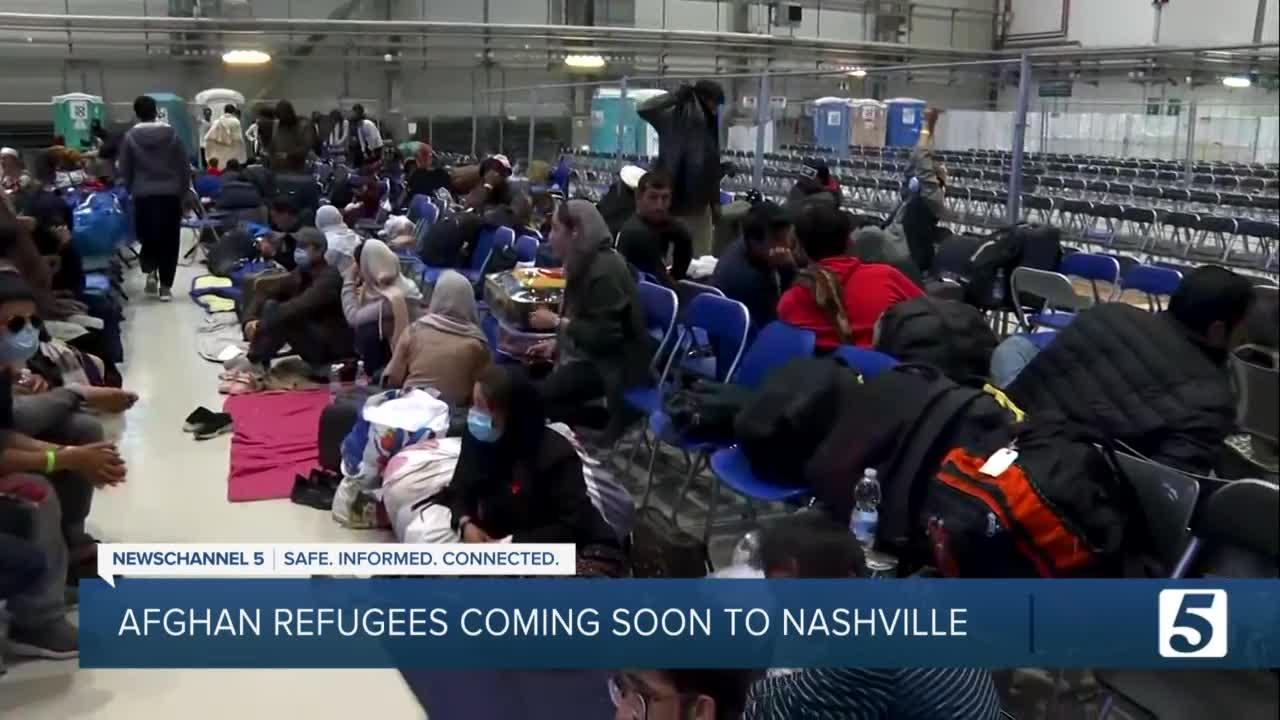 Nearly 300 Afghan refugees coming to Nashville