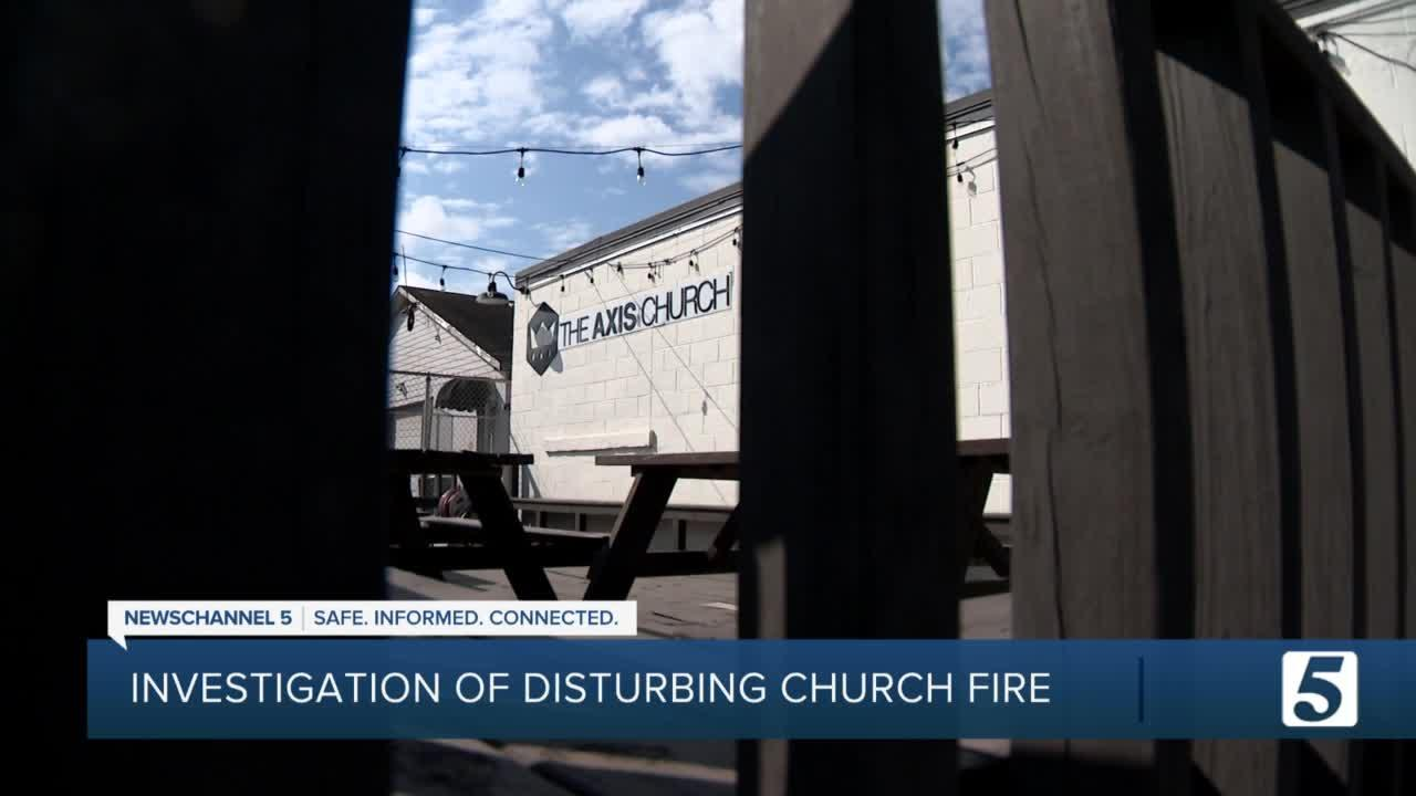 Video: Fiery object thrown into window of Germantown church; ATF investigating