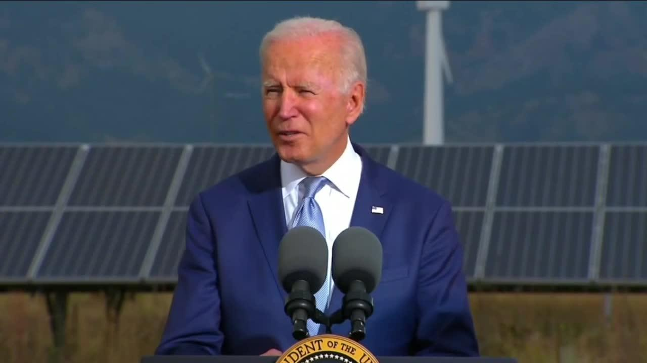 Biden calls for immediate action to slow climate change in visit to Colorado
