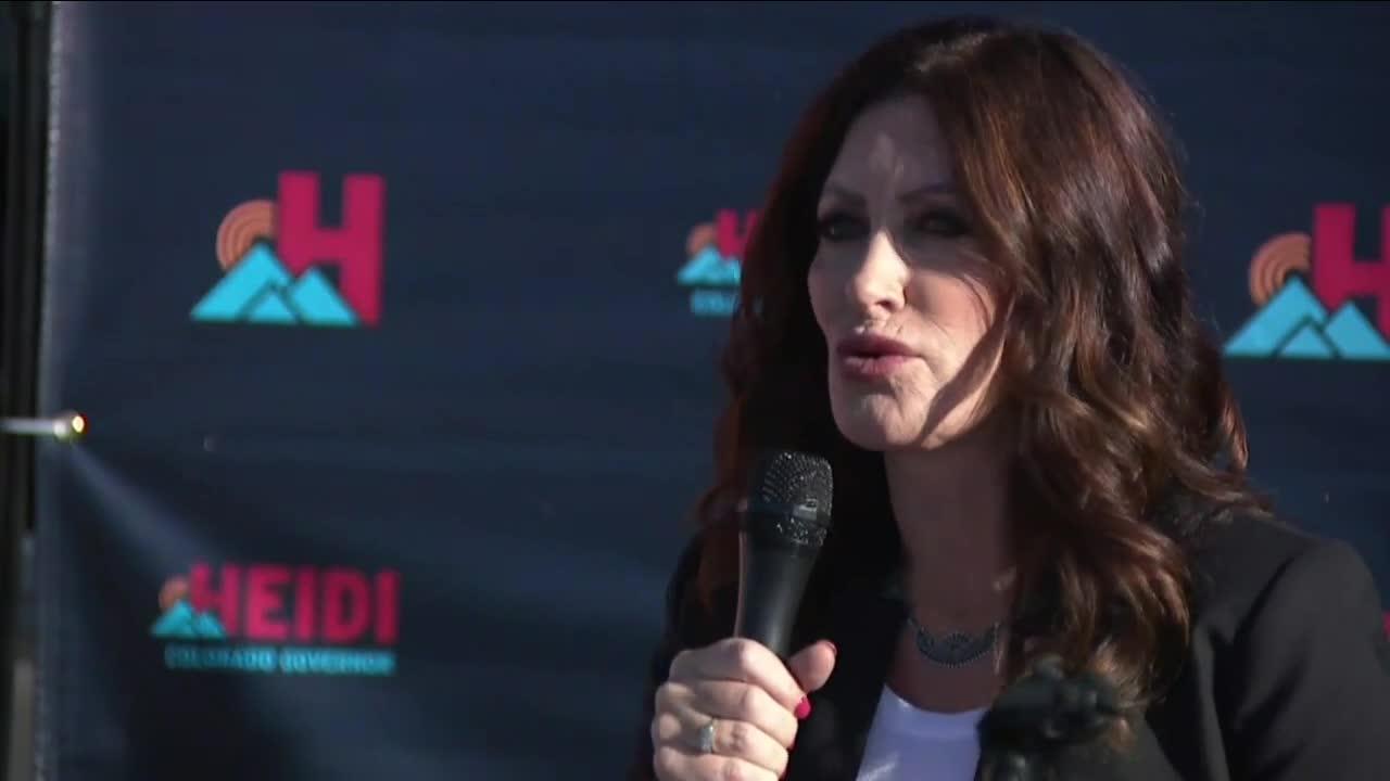 Republican Heidi Ganahl formally announces bid in 2022 Colorado governor's race