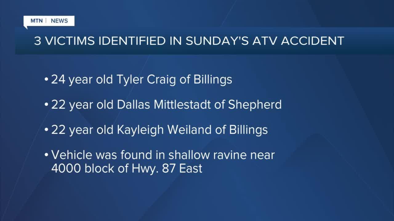 Names of three killed in ATV accident in Billings
