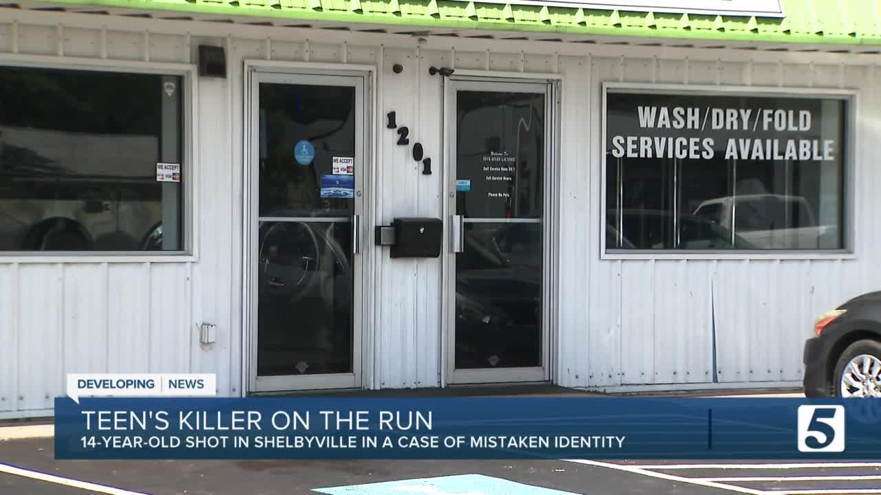 14-year-old boy shot, killed outside Shelbyville laundromat