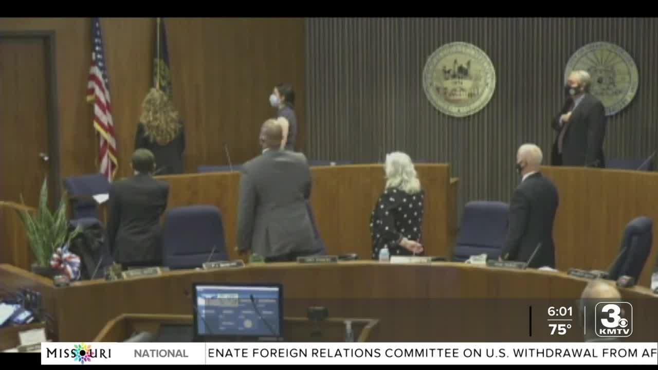 Douglas County Board honors Mike Boyle