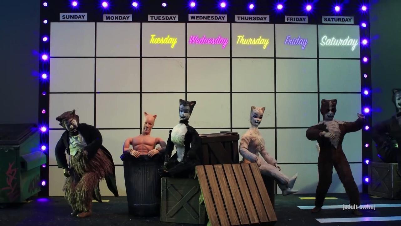 Robot Chicken - Garfield Joins CATS