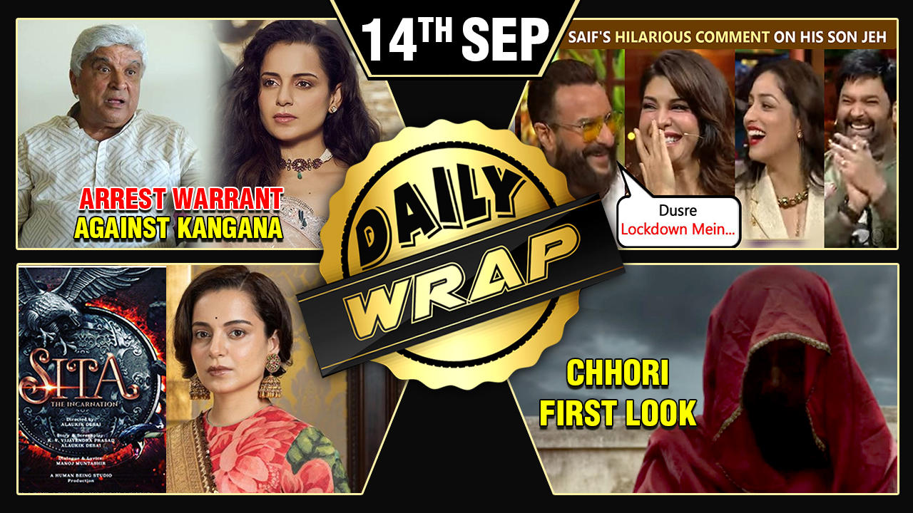 Kangana Bags Sita's Role, Saif On Jeh's Birth, Salman SRK Aamir Slammed BY Naseeruddin |Top 10 News