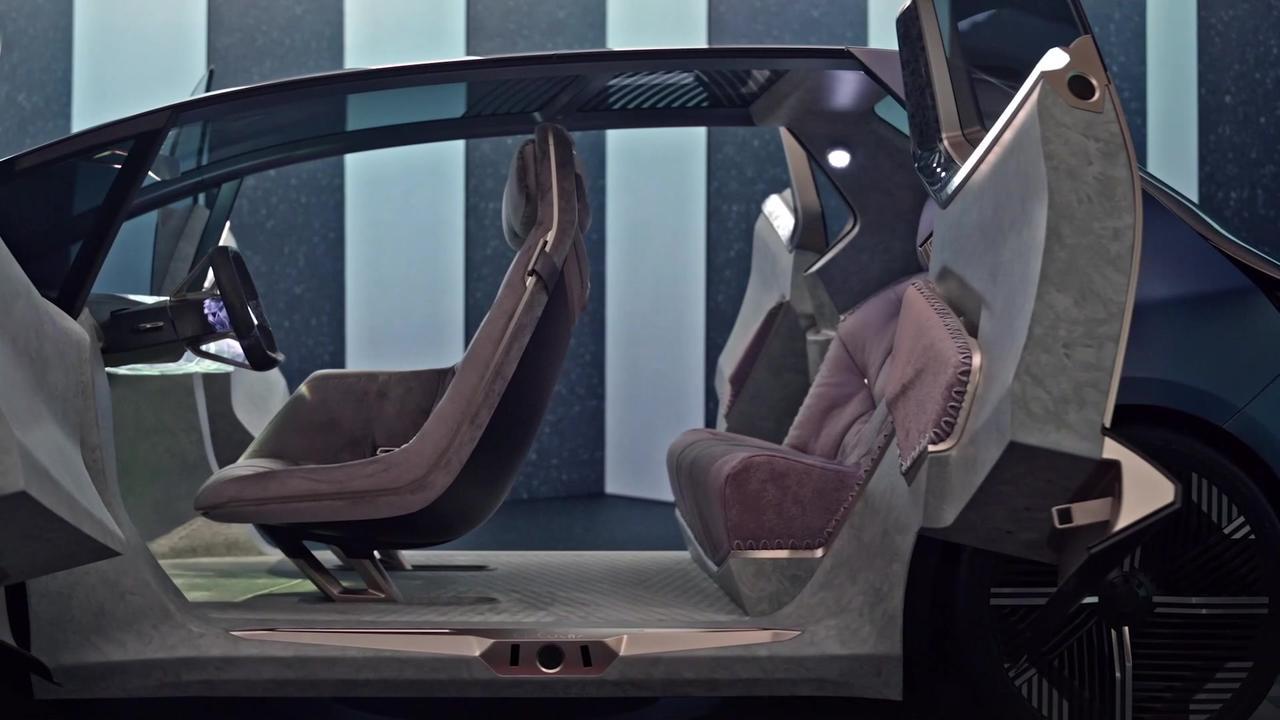 BMW i Vision Circular - Inform Snippets - Interior Design