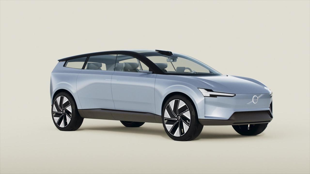 Volvo Concept Recharge Animation