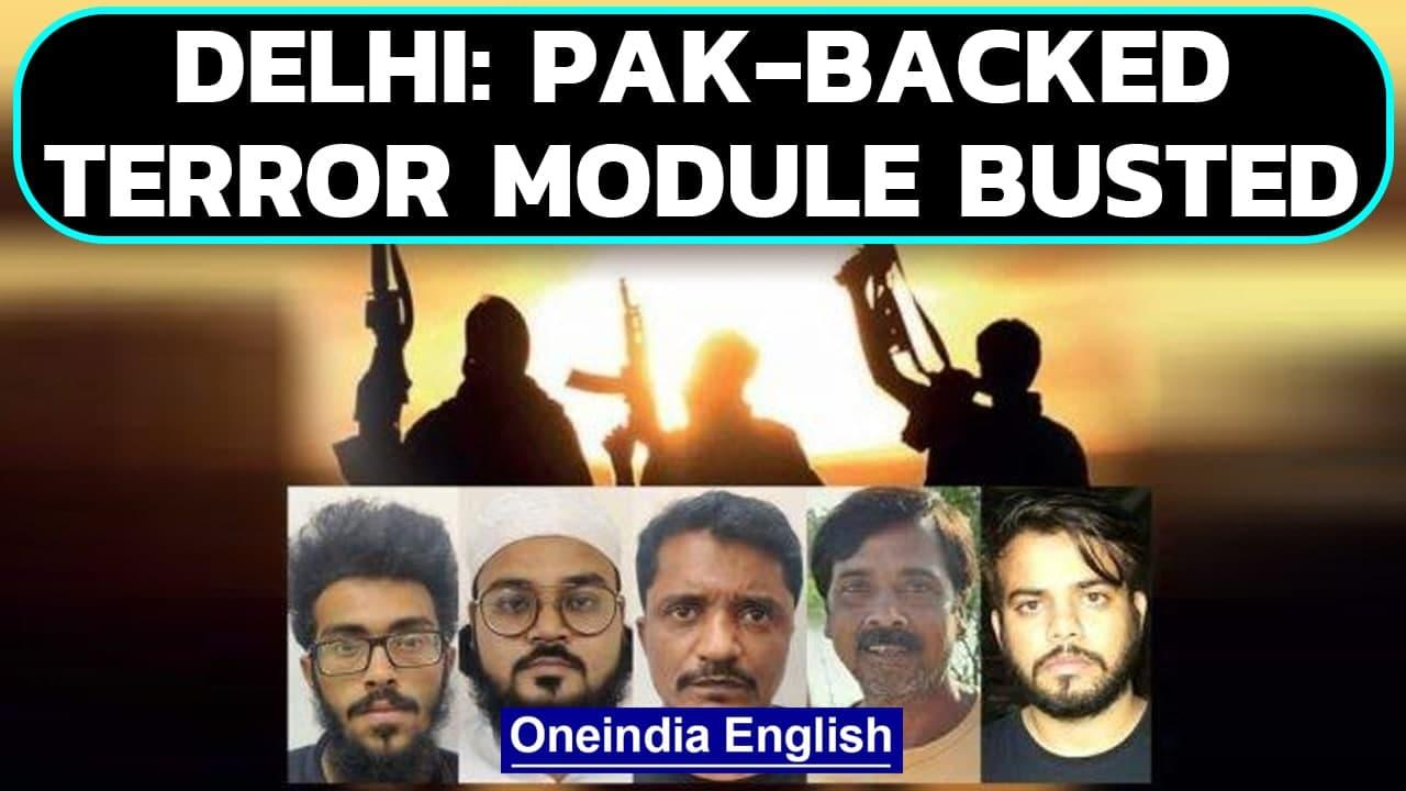 Pakistan-trained terror module busted, Delhi police say festivals targeted | Oneindia News