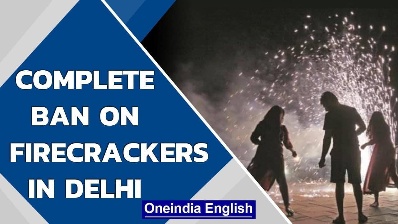 Diwali firecracker ban for second year in Delhi to 'save lives' | Oneindia News