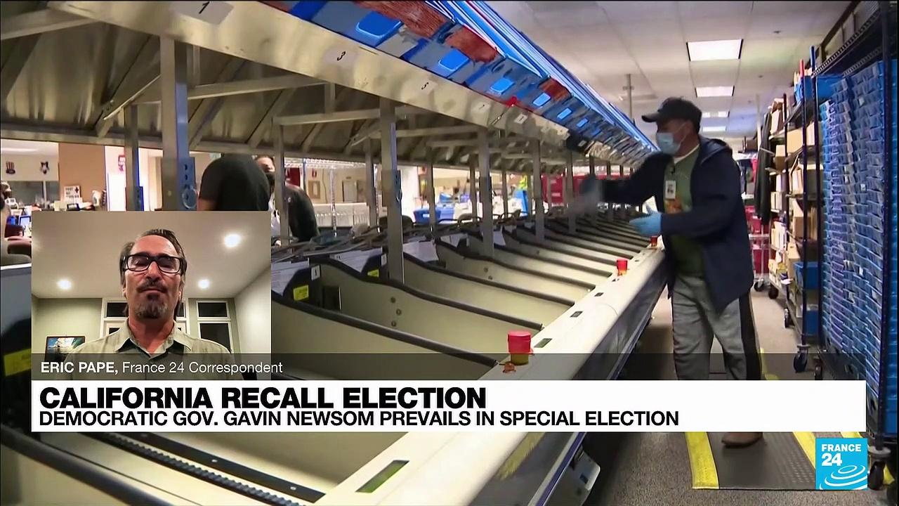 Californians vote to keep Democratic governor