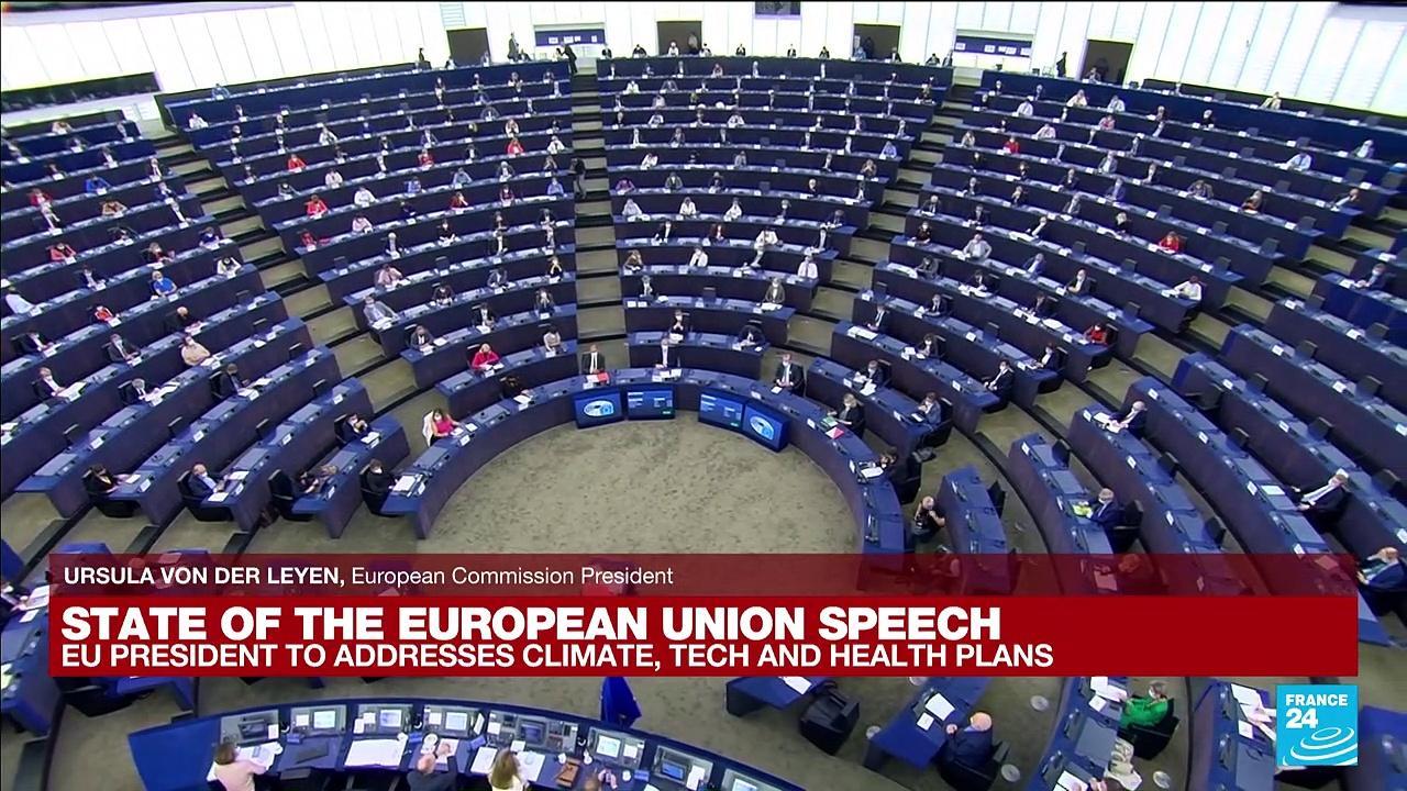 REPLAY. State of the EU speech: Ursula von der Leyen hails EU achievements, sets new goals