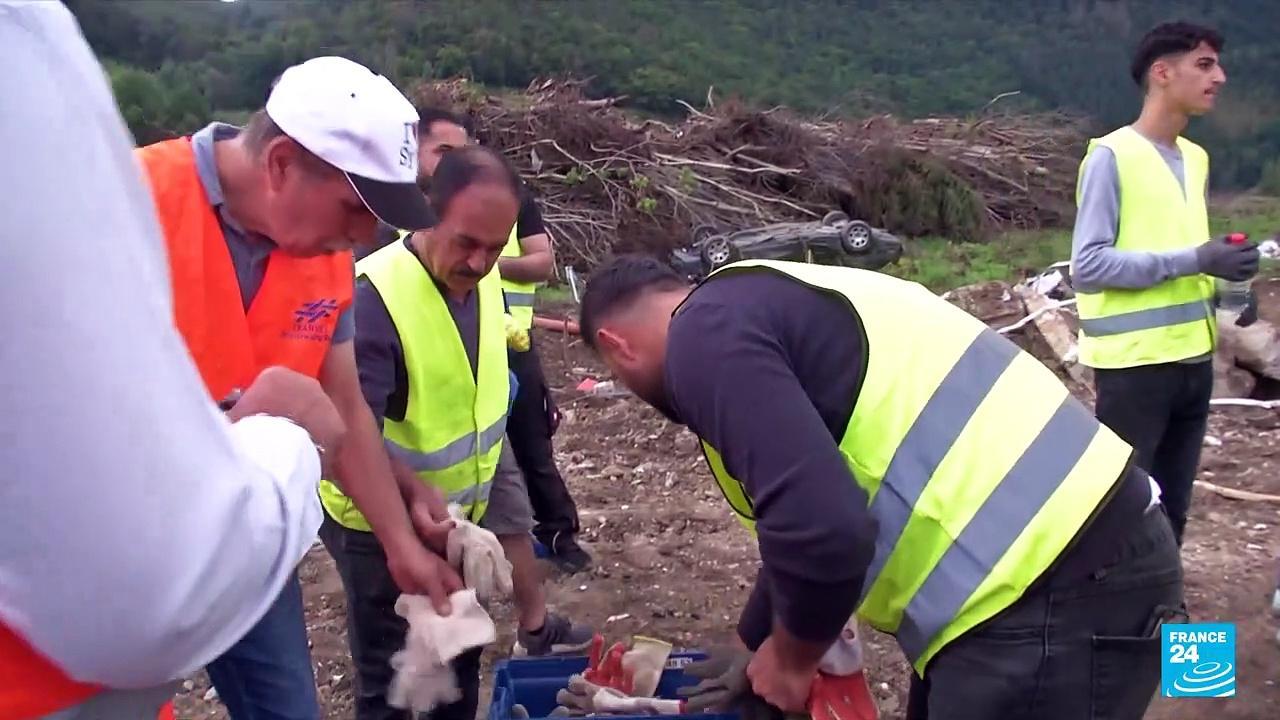 Germany floods: Two months later, Yazidi refugees take part in rebuilding effort