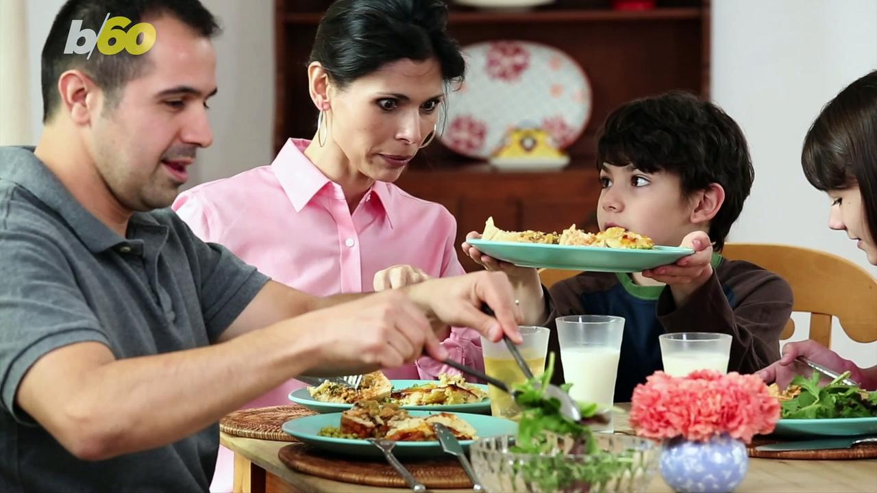 Americans Are Spending More Time Around the Dinner Table