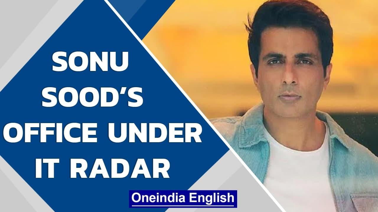 Sonu Sood's Mumbai office surveyed by Income Tax Department | Oneindia News