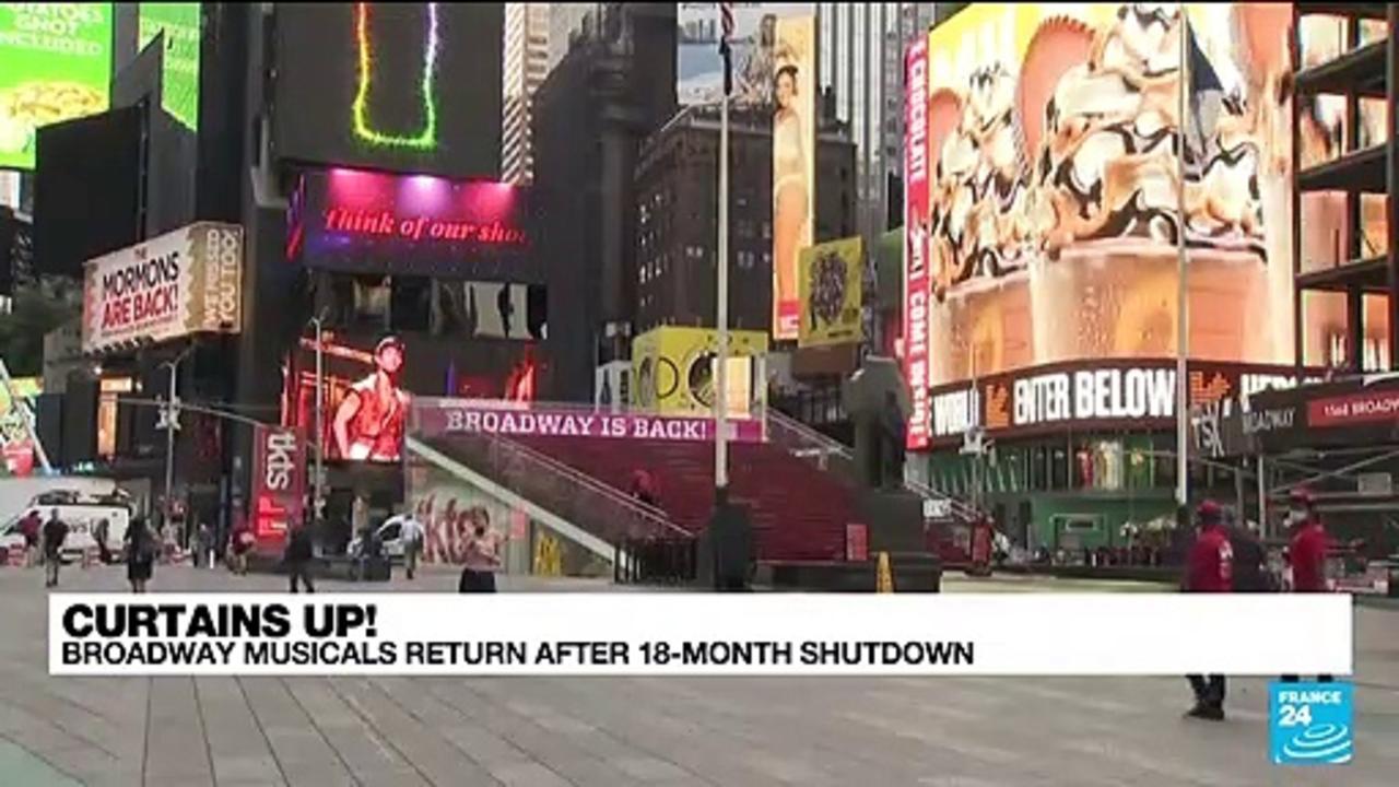 Curtains up! Broadway musicals return after 18-minth shutdown
