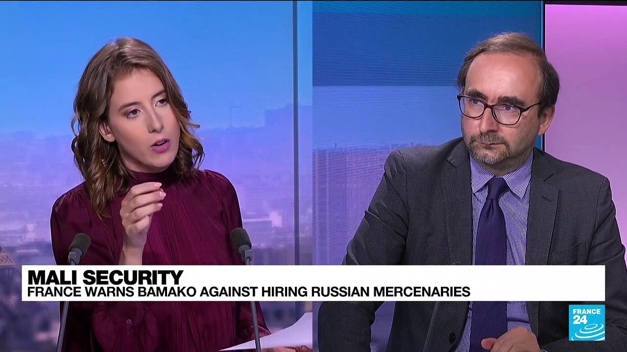 Mali security: France warns Bamako against hiring Russian mercenaries