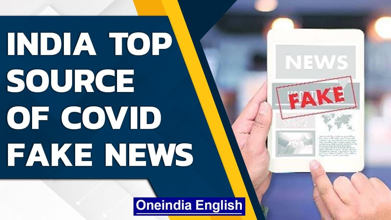 India is biggest source of Covid-19 misinformation, says study | Oneindia News