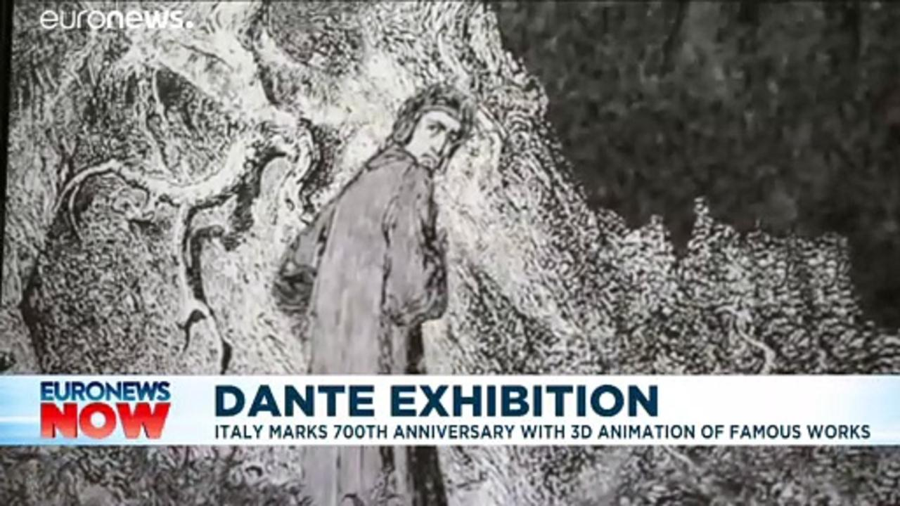 Dante's Divine Comedy revived in 3D video 700 years after poet's death
