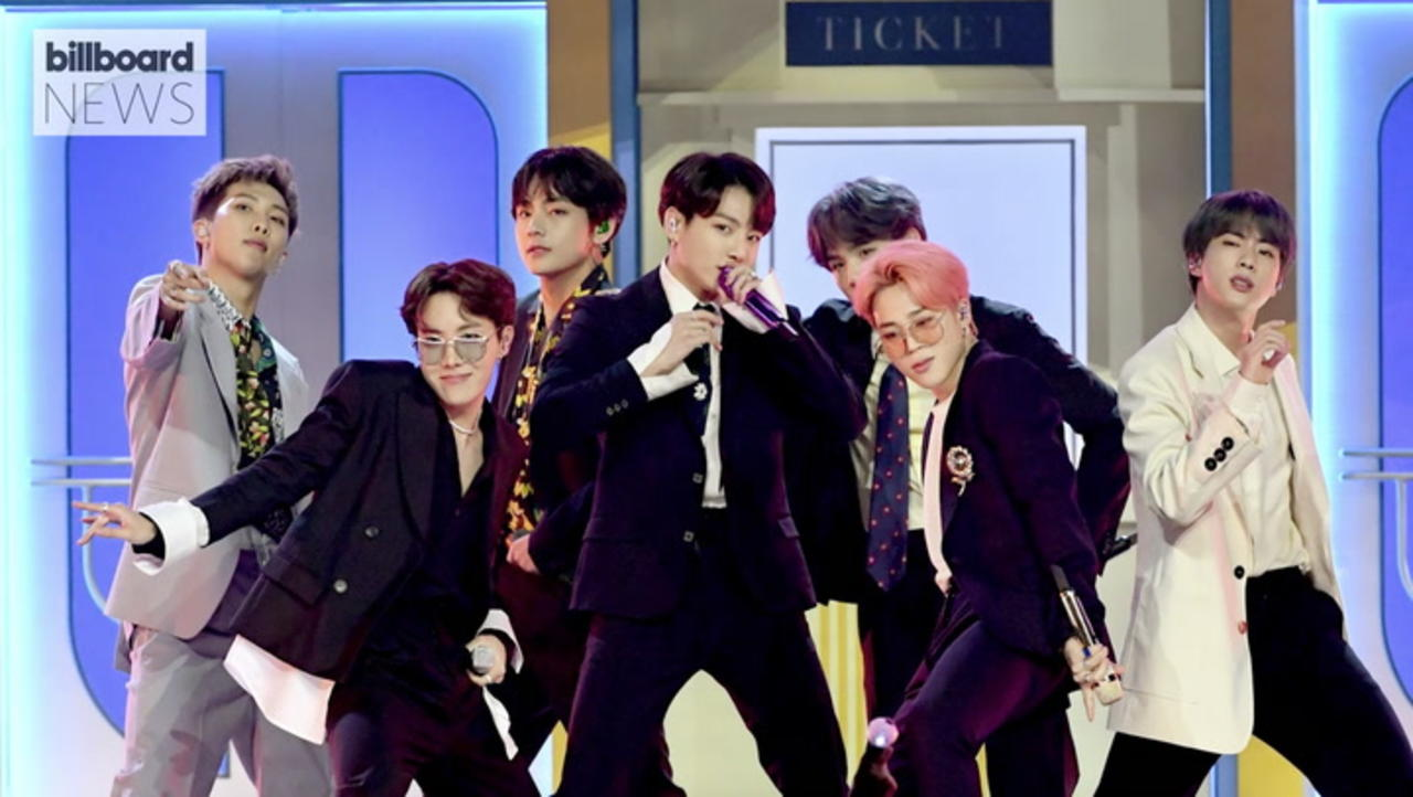BTS Announce 'Permission to Dance On Stage' Livestream Concert   Billboard News