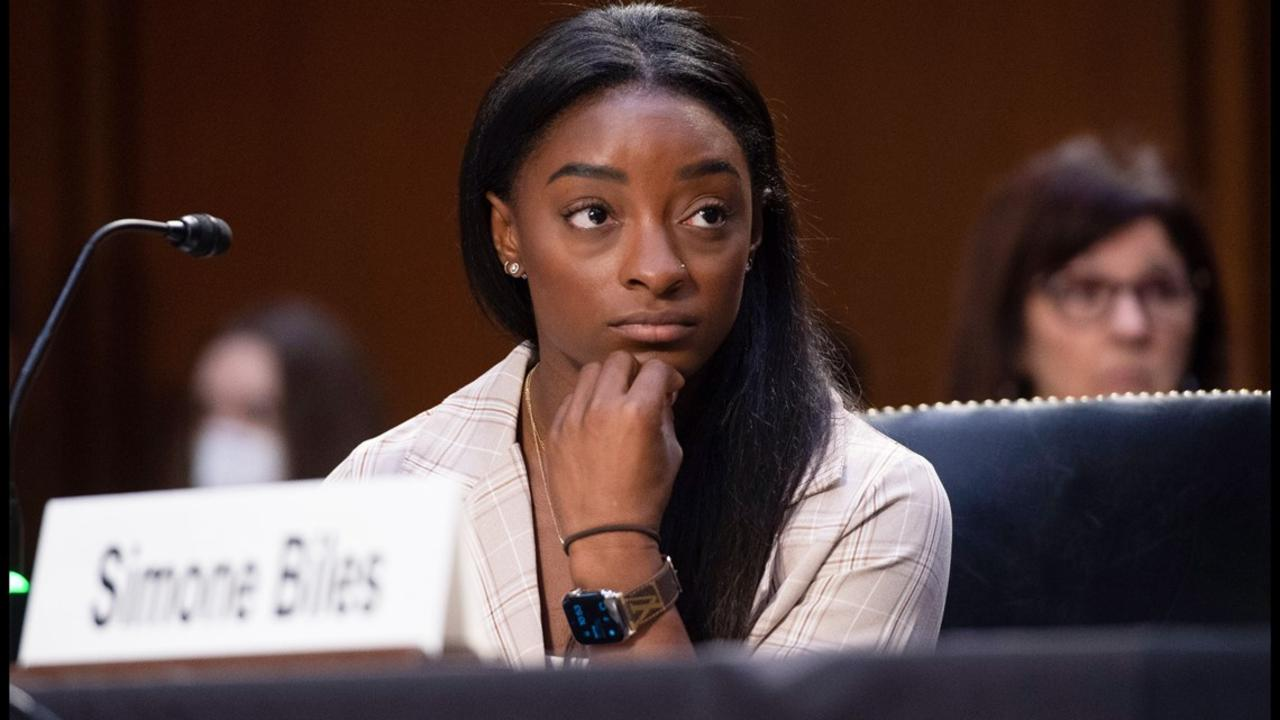 Simone Biles Blasts FBI For Failing to Stop Larry Nassar's Sexual Abuse of Athletes