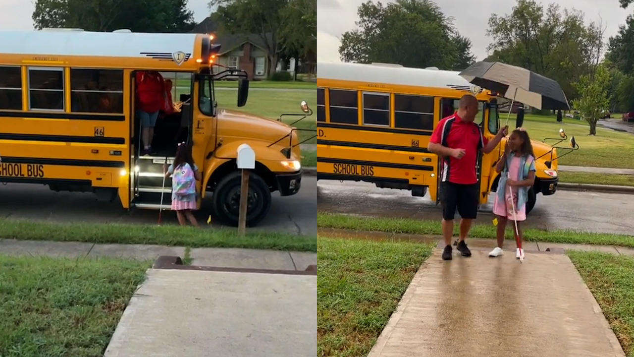 Visually Impaired Fourth Grader Befriends Her Bus Driver