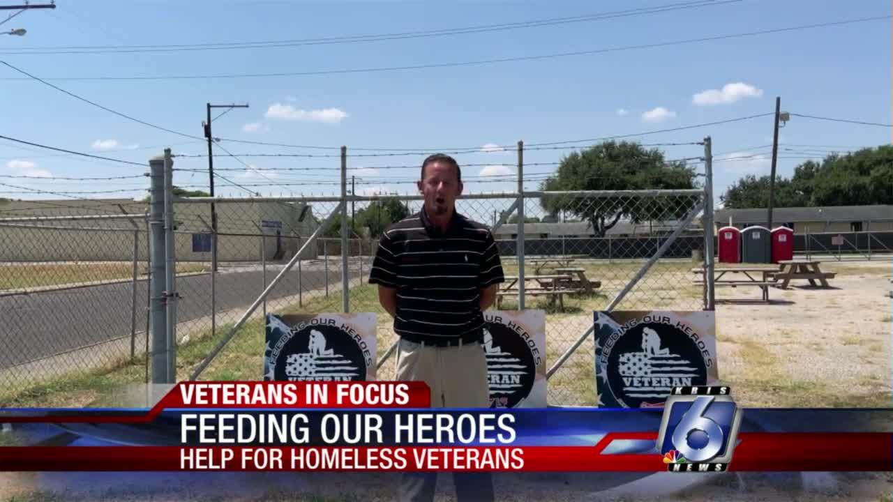 Community comes together to feed homeless veterans