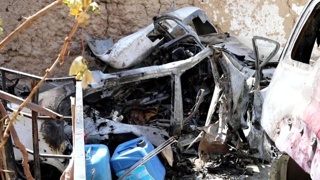 The Pentagon claims it hit a legitimate terrorist target with its final drone strike in Afghanistan. CNN investigated what happe
