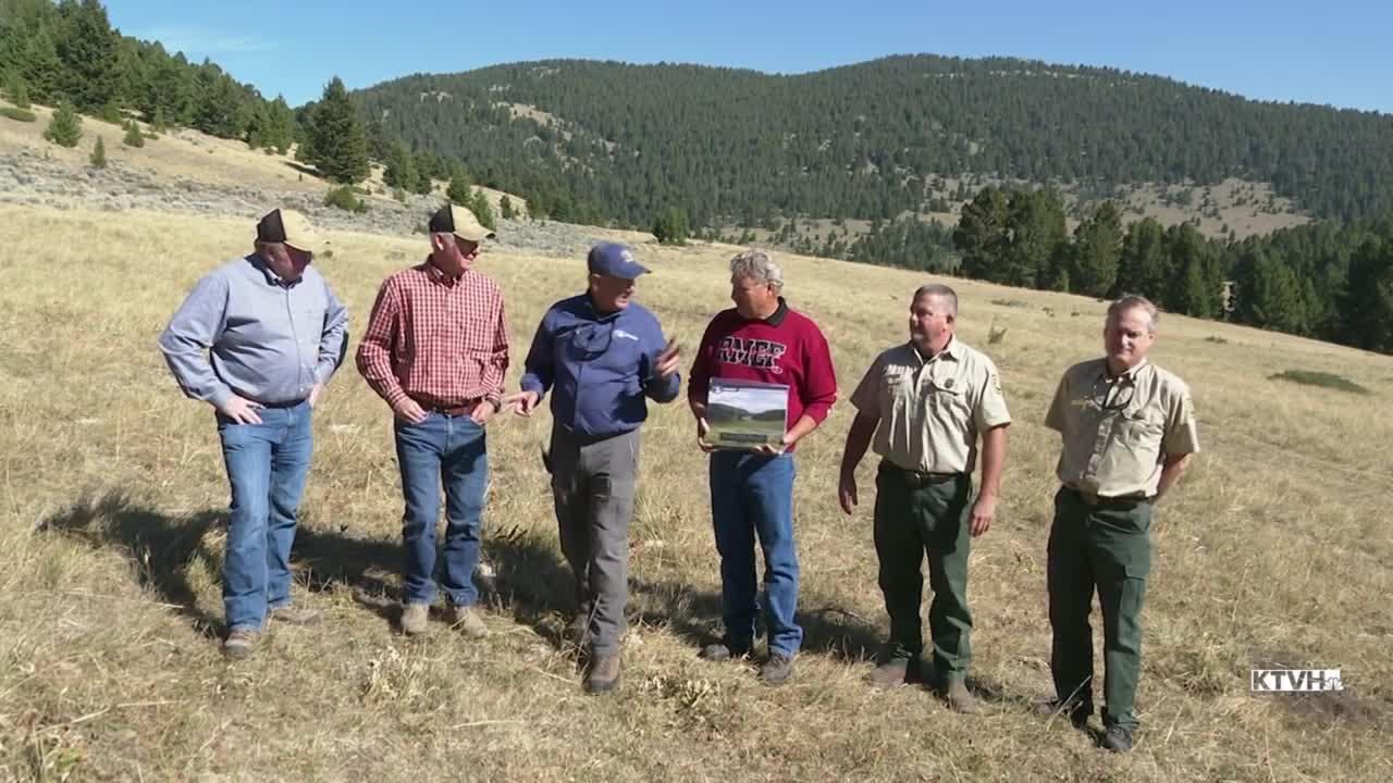 U.S. Forest Service in the Townsend Ranger District acquire 1,400 acres of land