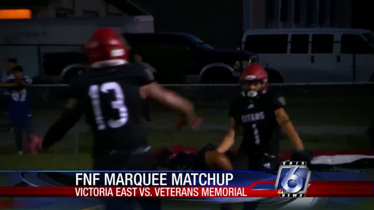 Victoria East vs. Veterans Memorial is this week's Marquee Matchup