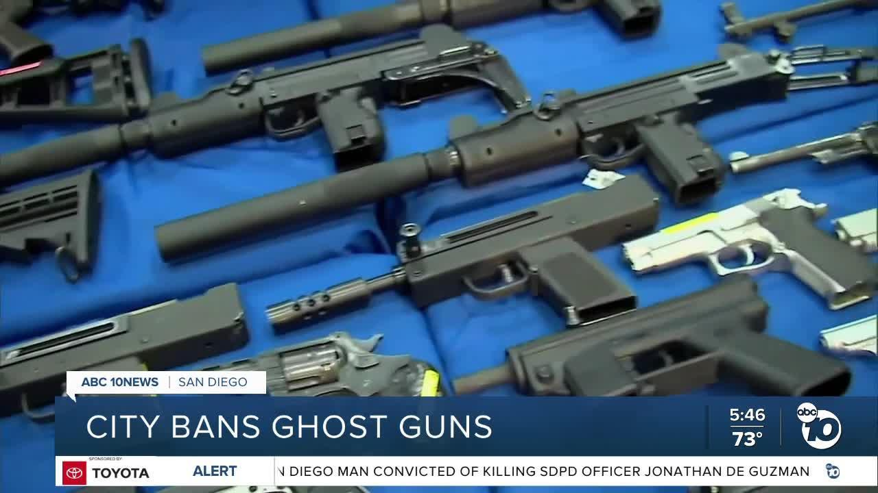 San Diego bans 'ghost guns' in city