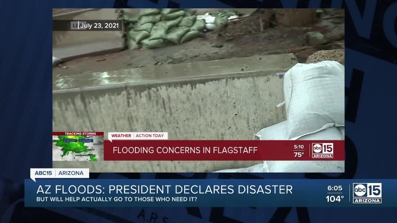 Will Biden's Disaster Declaration actually help Flagstaff area?