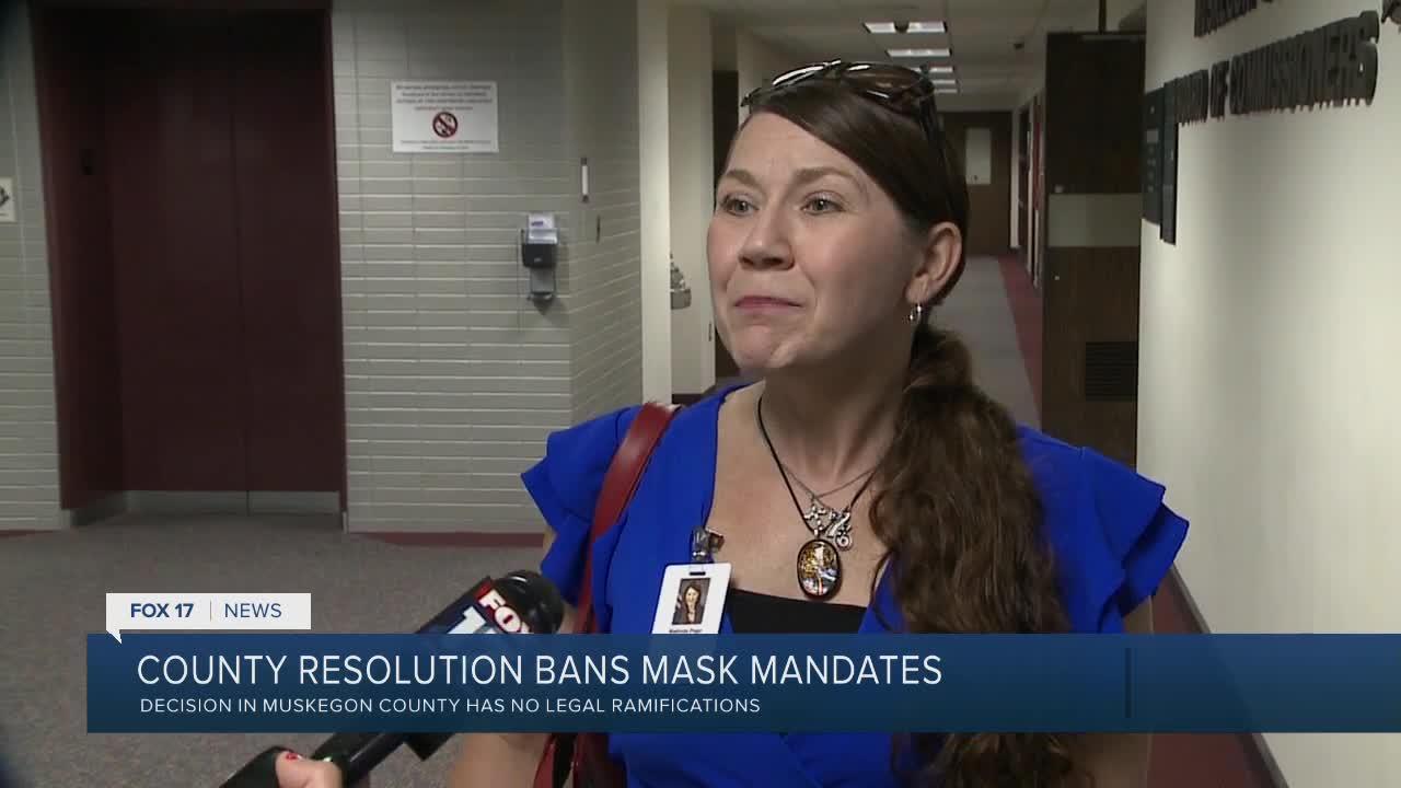 County resolution bans mask, vaccine mandates