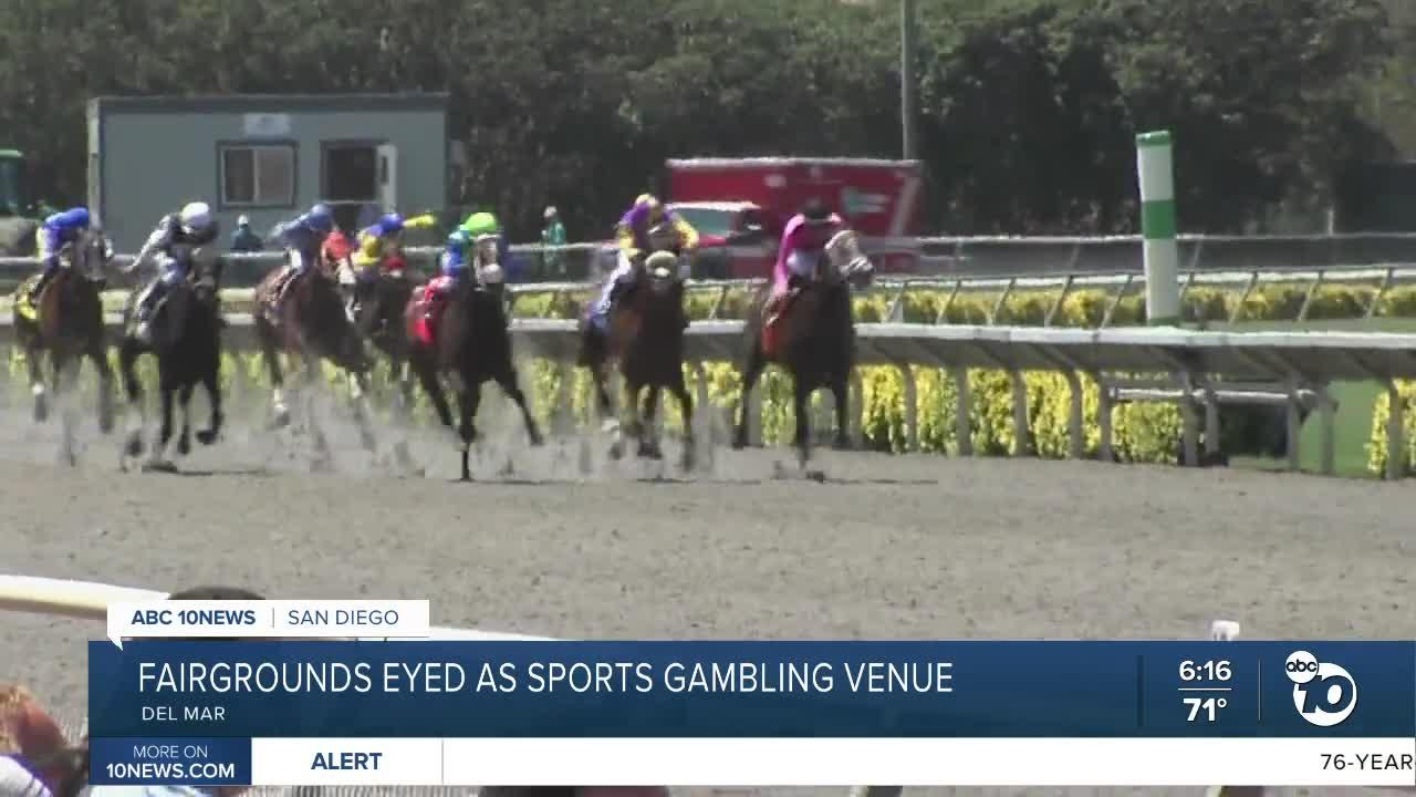 Del Mar Fairgrounds could become place to bet on pro, college sports
