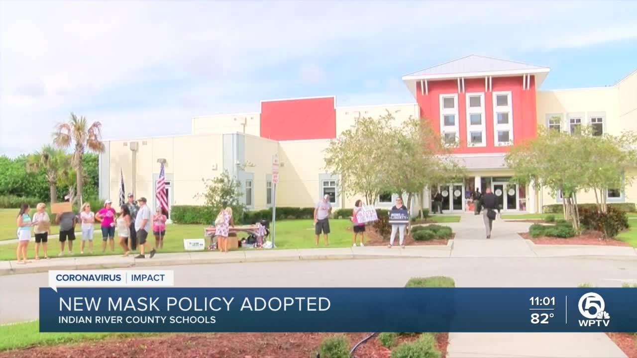 Indian River County School Board votes to extend mask mandate