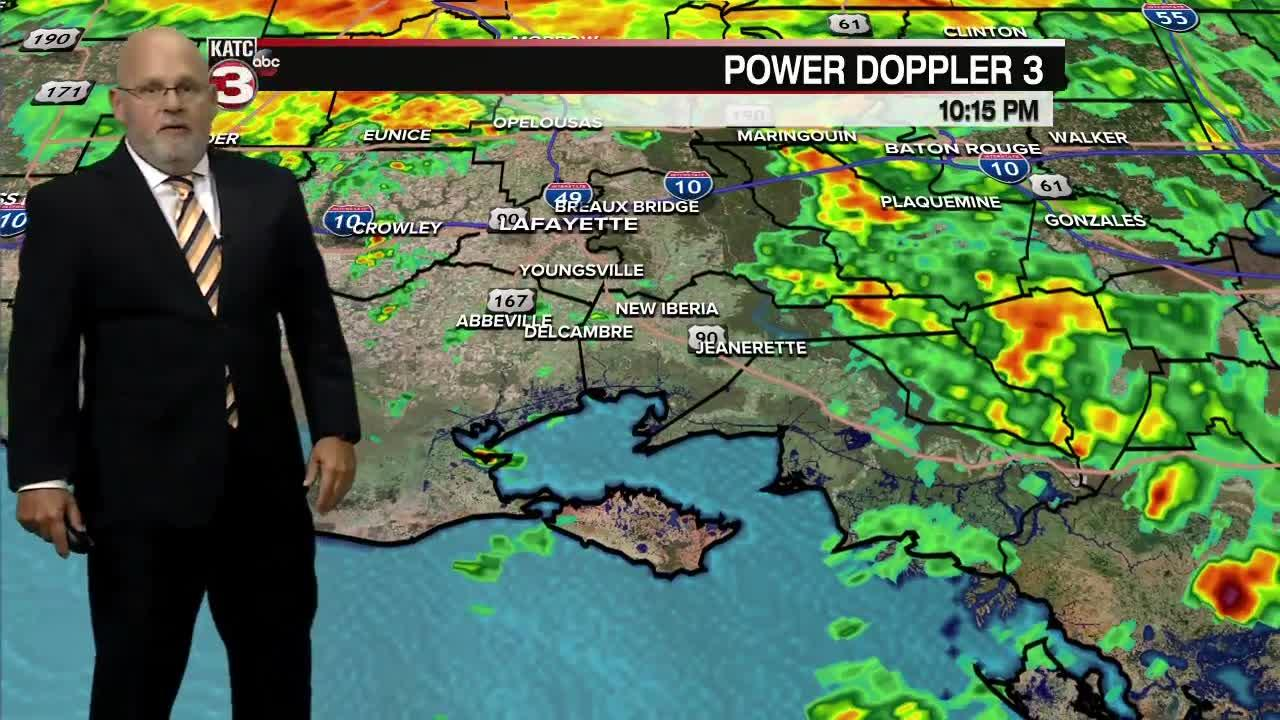 ROB'S WEATHER FORECAST PART 2 10PM 9-14-2021