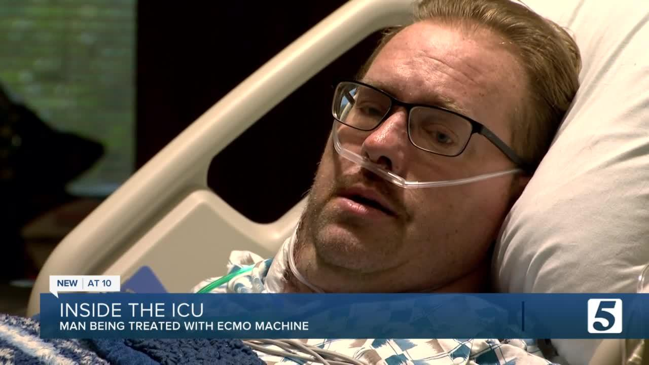 Man recovering from COVID effects speaks from hospital bed