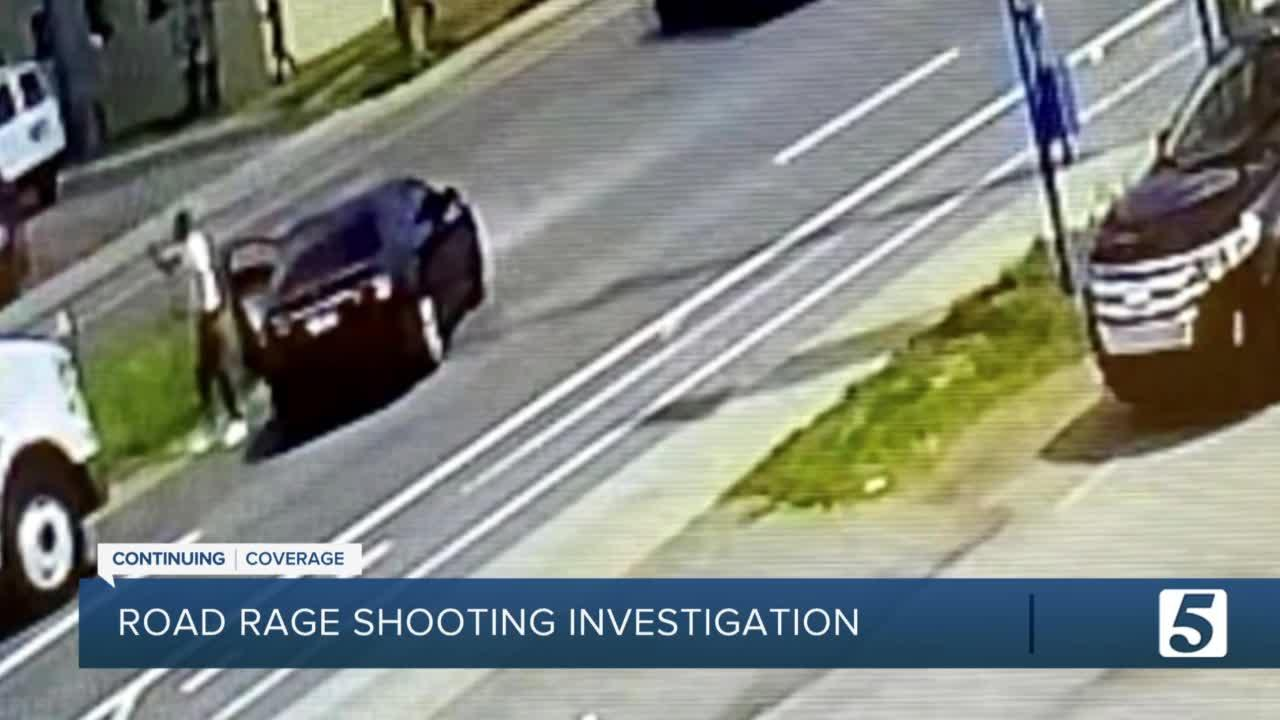 One injured in road rage shooting on Murfreesboro Pike