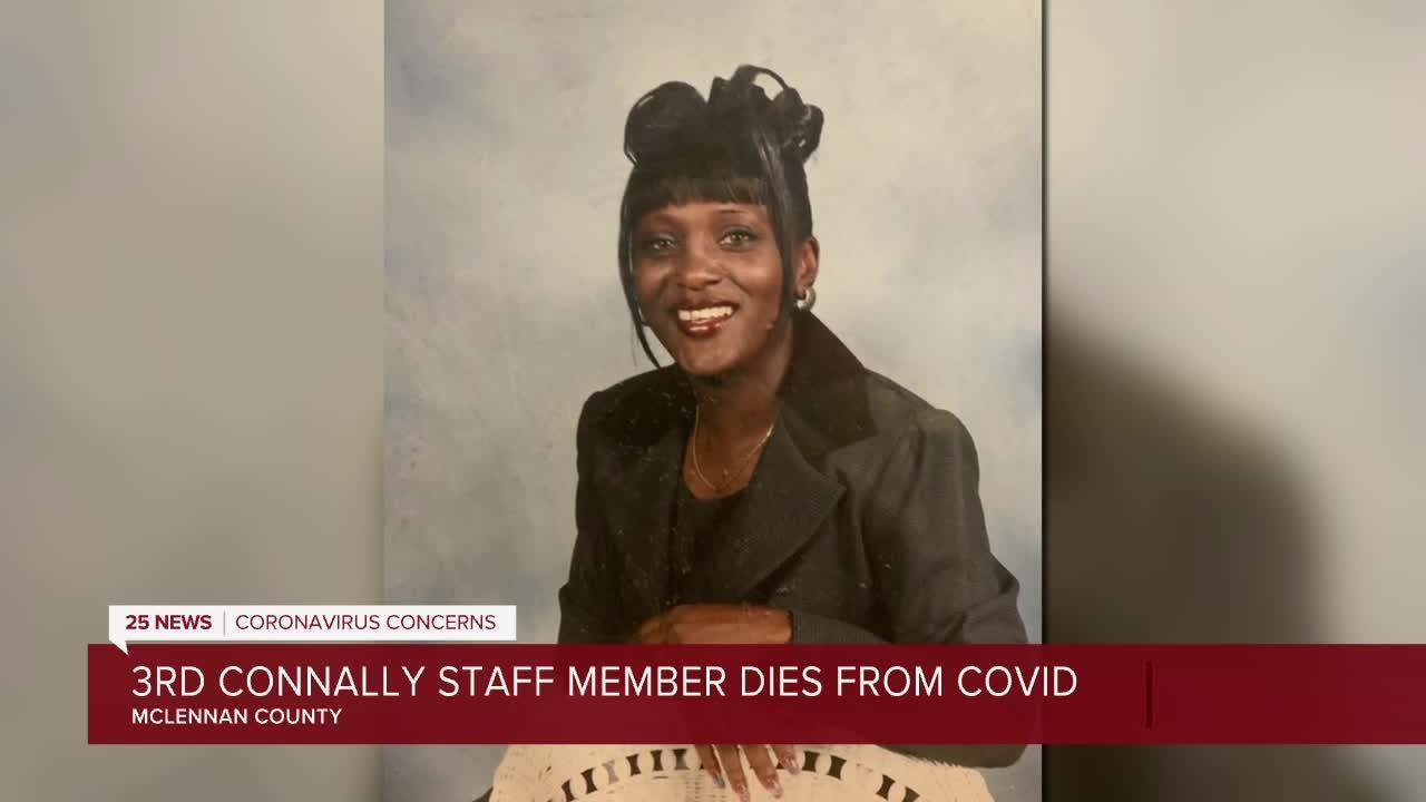 Third Connally ISD staff member, a mother of four, dies from COVID-19