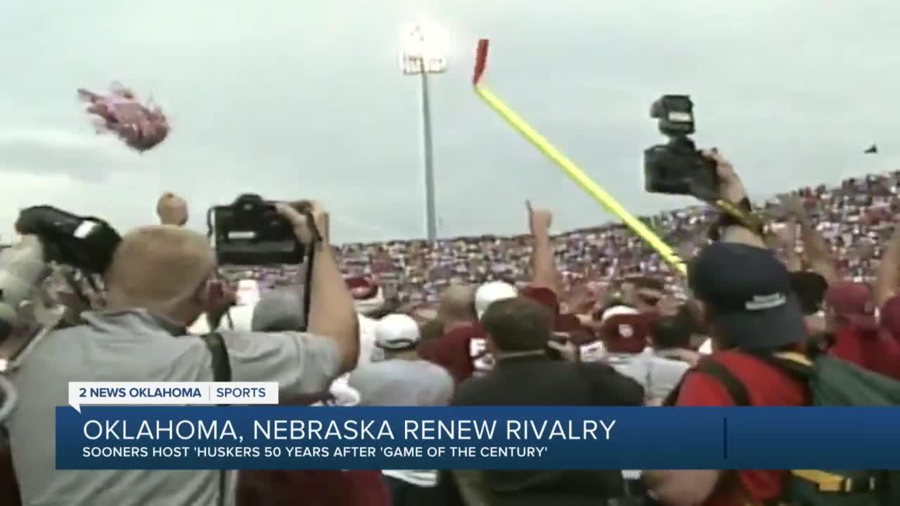 Oklahoma Nebrasks renew rivalry