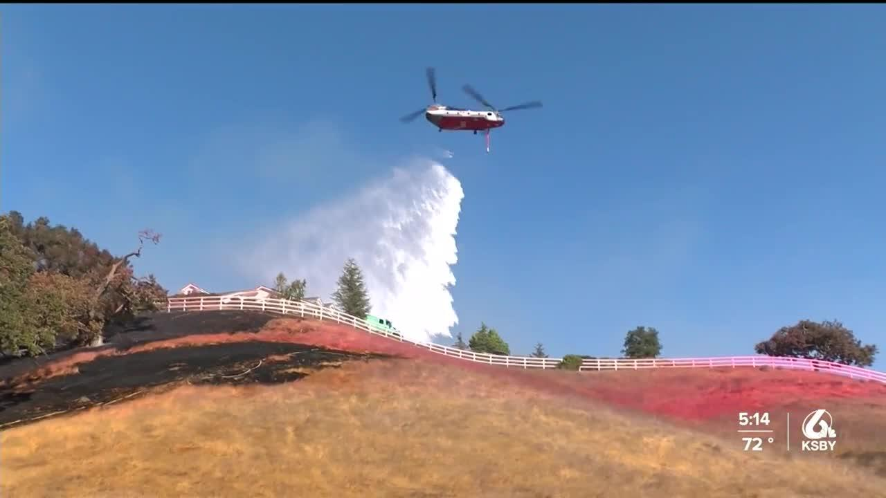 Investigators: Caballo Fire started by someone using a torch to clear weeds
