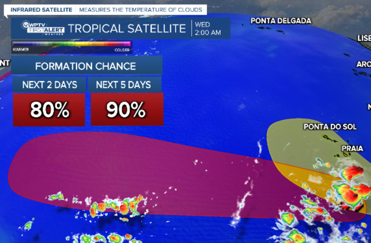 Three tropical waves to watch for development this week