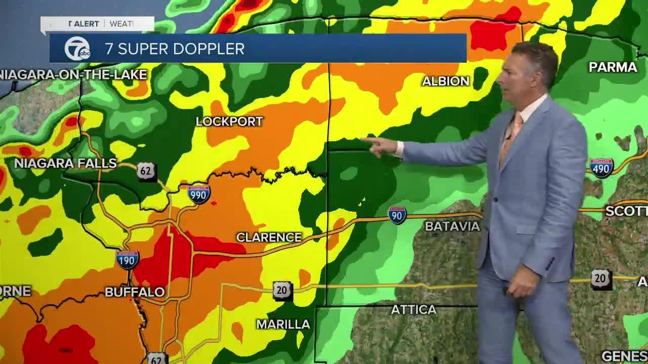 7 First Alert Forecast 5am Update, Wednesday, September 15