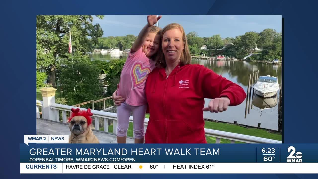 Greater Maryland Heart Walk Team