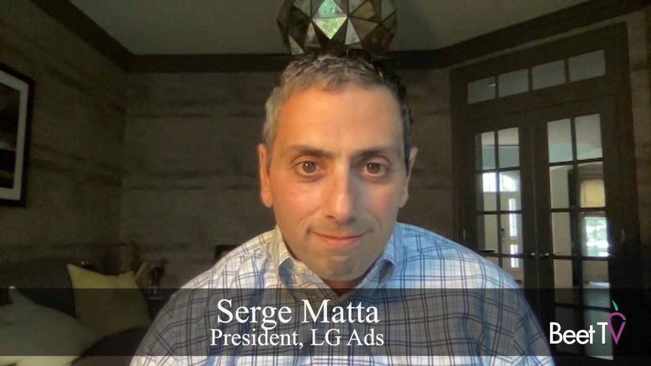 Viewer Data Underpin CTV Targeting: LG Ads' Serge Matta